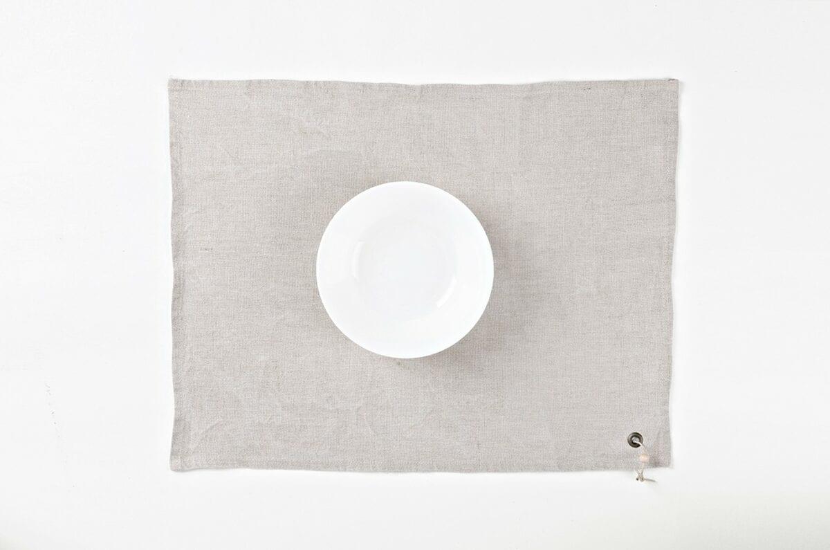 Obrus - praný režný ľan
