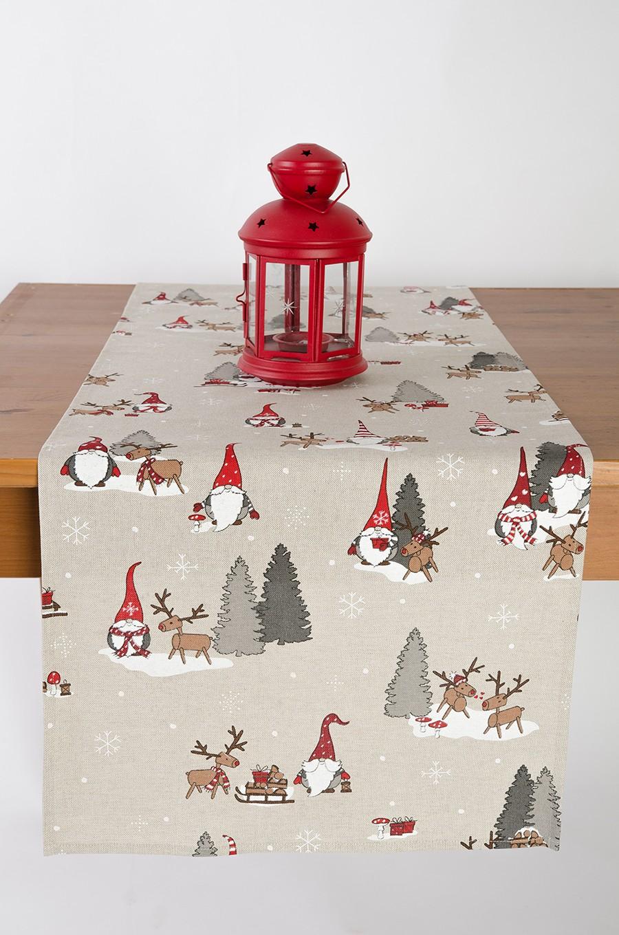 Štóla - vianočný škriatok so sobom