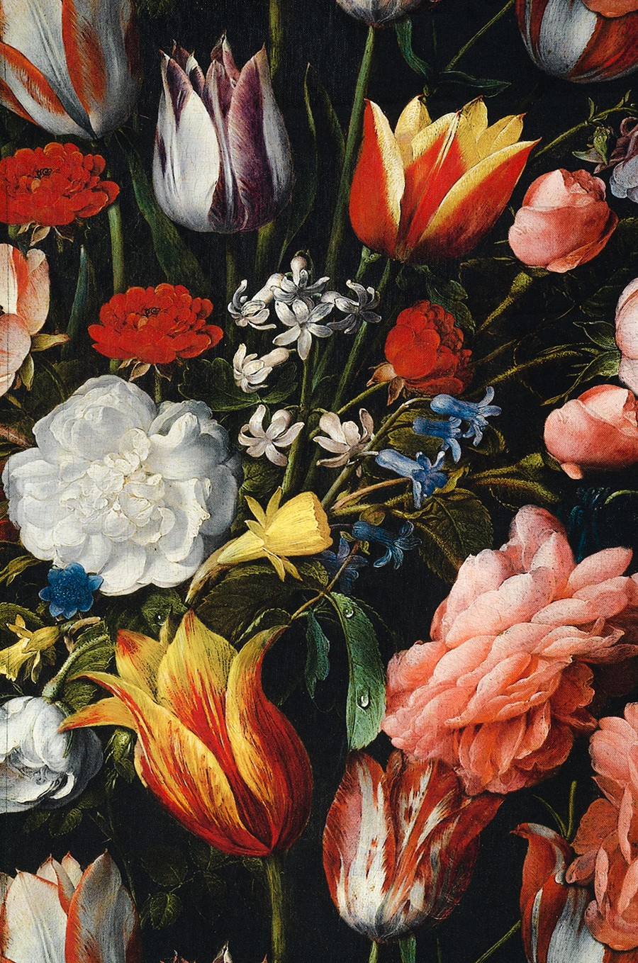 Obrus - kvety Rembrandt