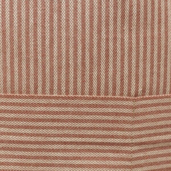 Bistro zástera jacquard - ružový pásik