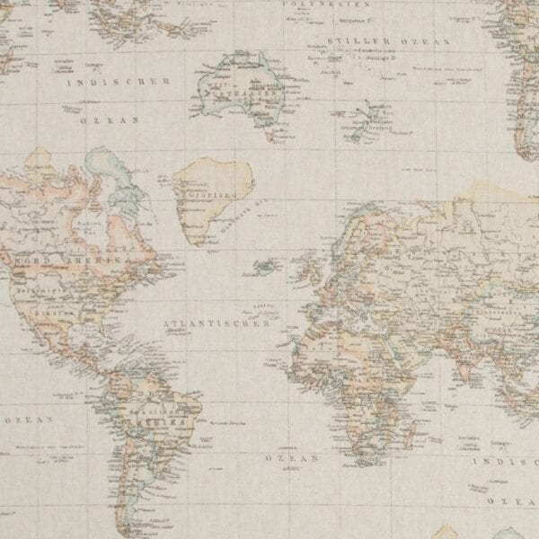 127 - Režná - Mapa sveta