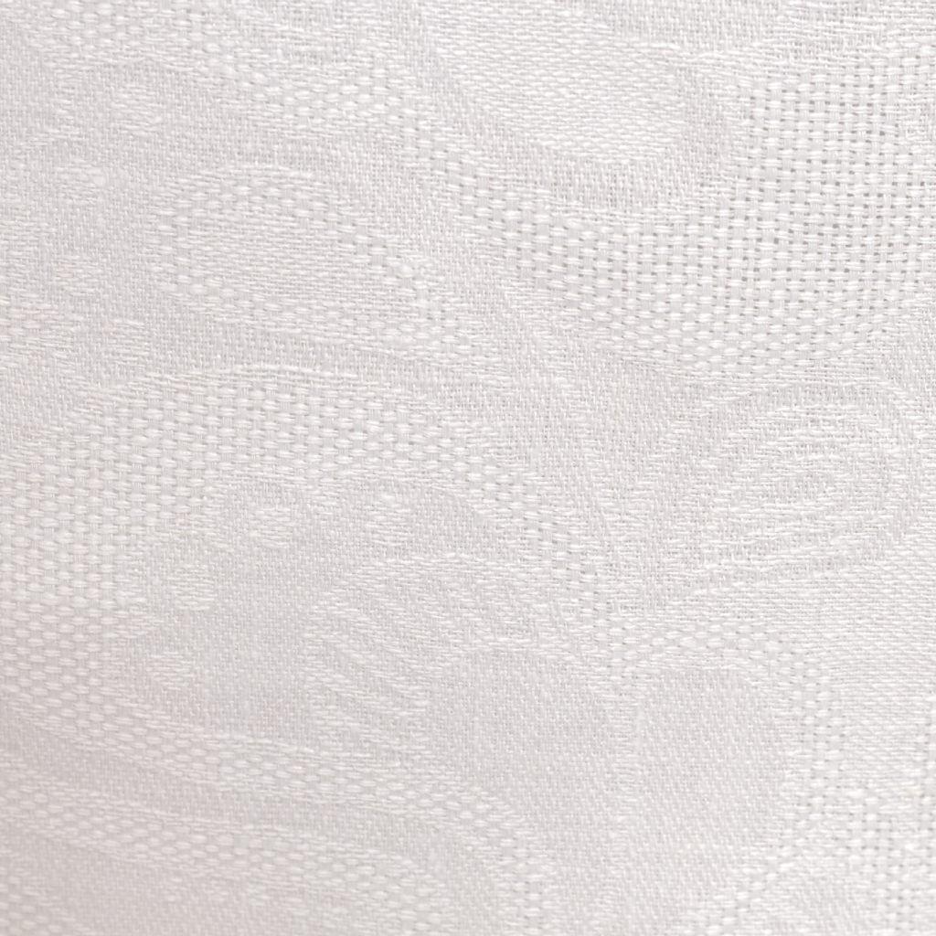 168 - Biely ľan jacquard ornament