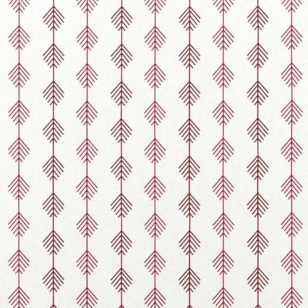 199 - Červené stromky na bielom