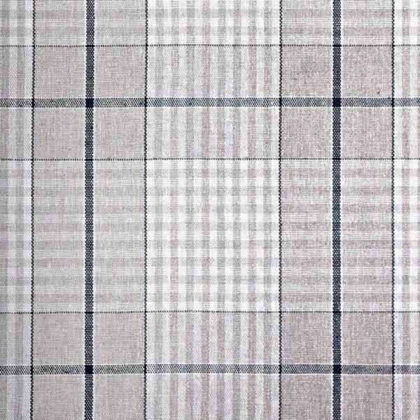 40 - Bavlna káro - pásik modrý