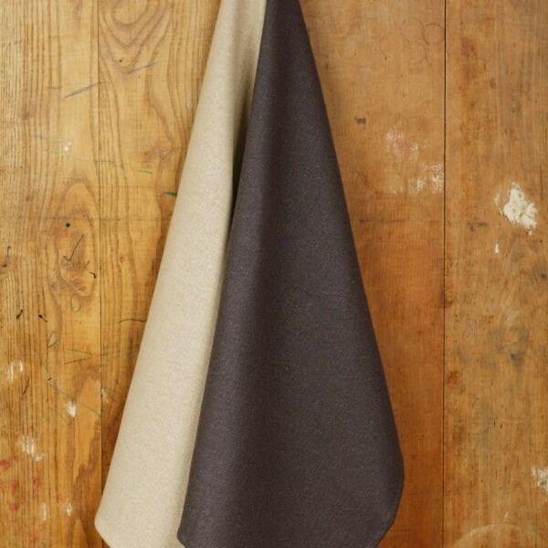 Utierka - ľan, black&white, balenie 2 Ks