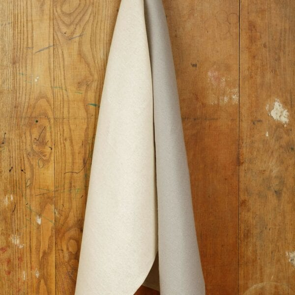 Utierka - ľan, gray&white, balenie 2 Ks