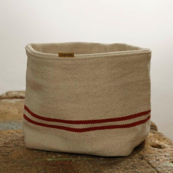 Ľanové vrecko na servírovanie - Josephine Red