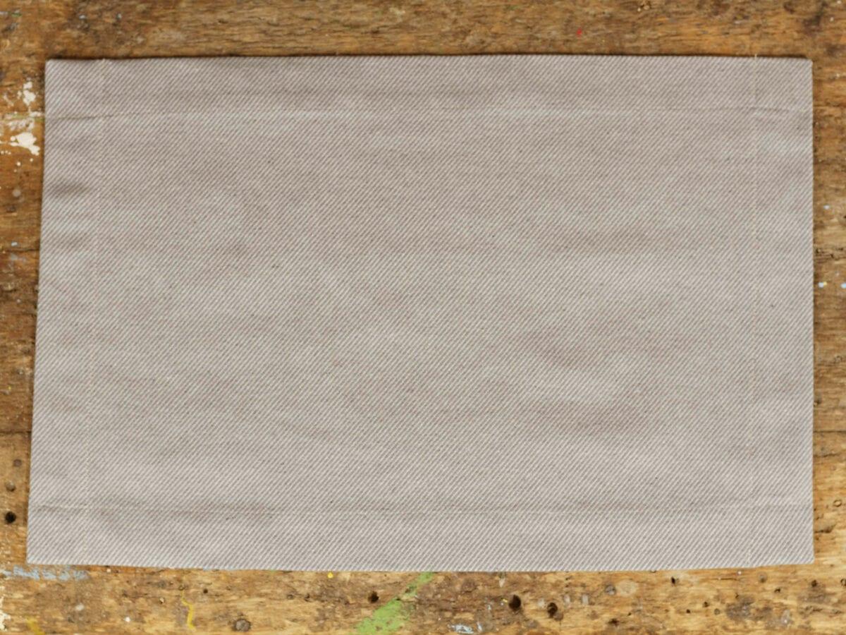 Prestieranie 2ks - jacquard twill gray