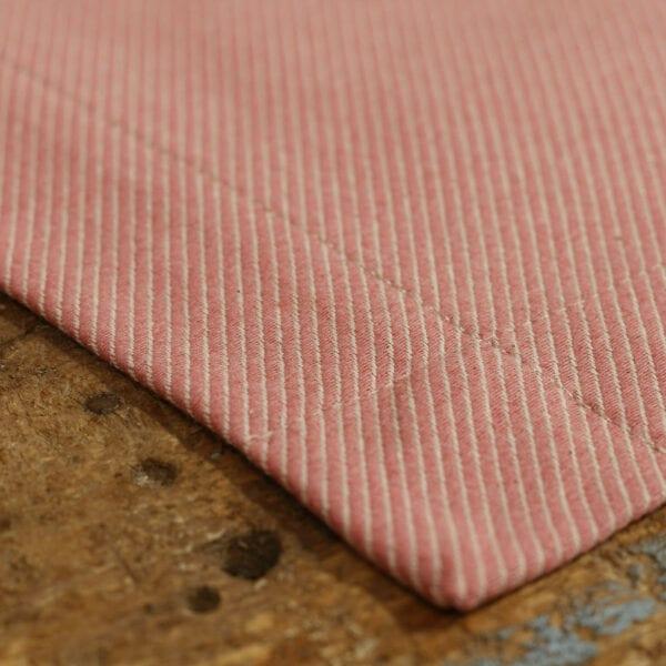 Prestieranie 2ks - jacquard twill pink