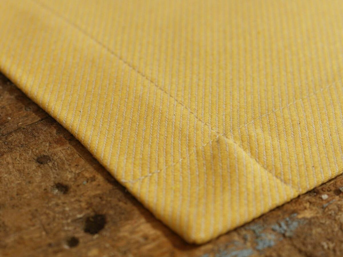 Prestieranie 2ks - jacquard twill yellow