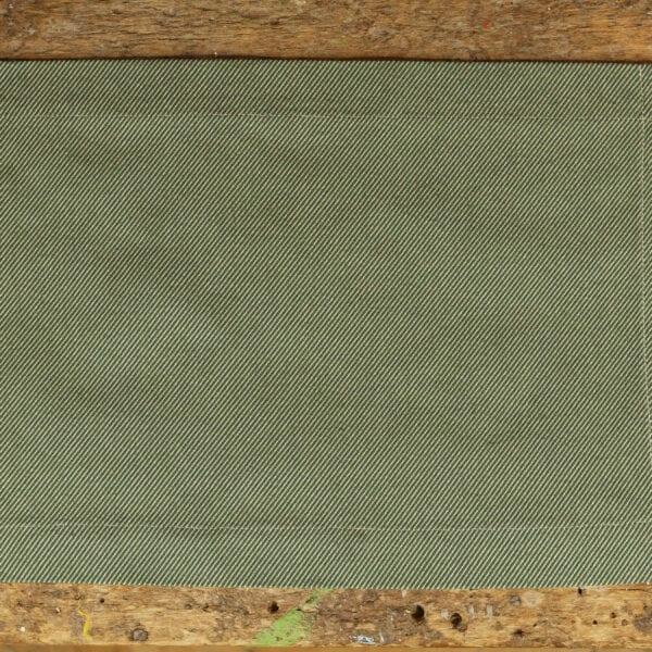Prestieranie 2ks - jacquard twill green